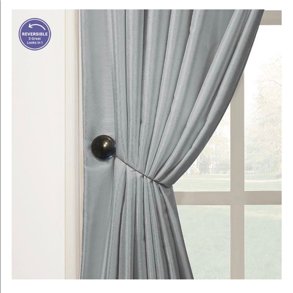 Better Homes And Gardens Other - BH&G 6 Bronzed Magnetic Holdbacks For Curtains